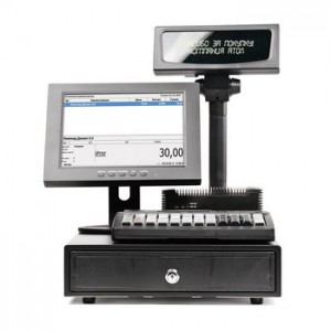 "POS-комплект 10"" NFD10 черный, SJ-1088, ДП, ДЯ, KB-60 MSR, Windows POSReady 7"